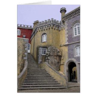 Europa, Portugal, Sintra. El nacional 2 de Pena Tarjeta De Felicitación