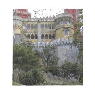 Europa, Portugal, Sintra. El nacional 3 de Pena Libretas Para Notas