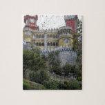 Europa, Portugal, Sintra. El nacional 3 de Pena Puzzles Con Fotos