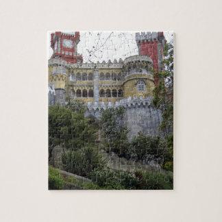 Europa, Portugal, Sintra. El nacional 3 de Pena Puzzle Con Fotos