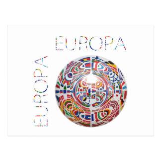 Europa ! postcard