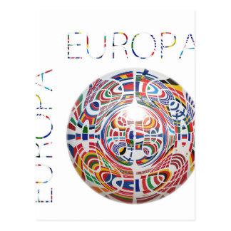 Europa ! postcards
