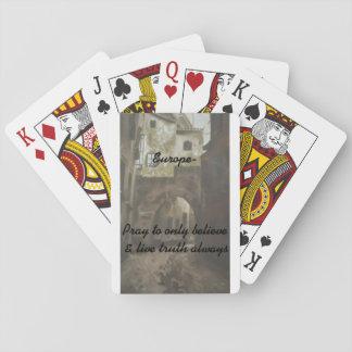 - Europa, ruega/fijó de tarjetas Cartas De Póquer