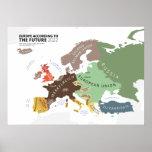 Europa según el 2022 futuro poster
