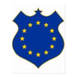 Europa-shield.png Tarjeta Postal