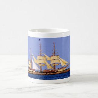Europa ship classic white coffee mug