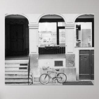 Europa, Suiza, Berna. Edificio de Kramgasse Posters
