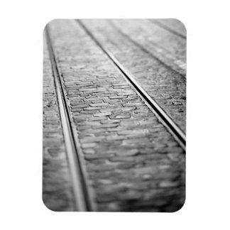 Europa, Suiza, Berna. Pistas de la tranvía, 2 Iman Rectangular