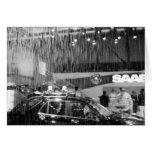Europa, Suiza, Ginebra. Salón del automóvil de Gin Tarjeta De Felicitación
