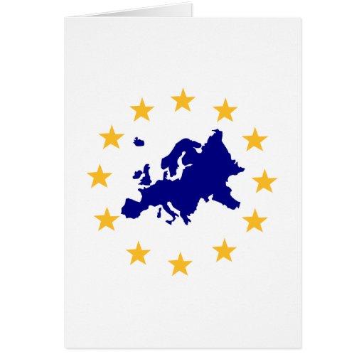 Europa Tarjeta De Felicitación