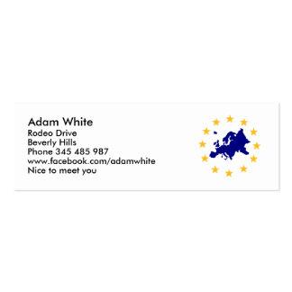 Europa Tarjetas De Visita Mini