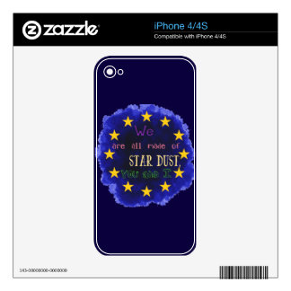 Europa - un mapa de estrella iPhone 4 calcomanía