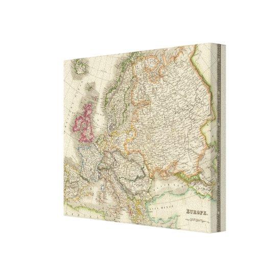 Europe 10 canvas print