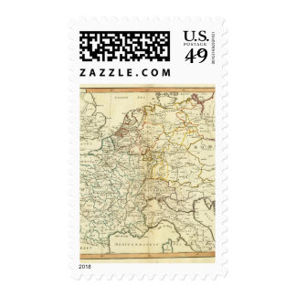 Europe 10 postage stamps