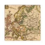 Europe 12 2 wood coaster