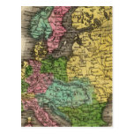 Europe 12 postcard