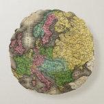 Europe 12 round pillow