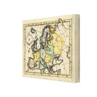 Europe 13 stretched canvas prints