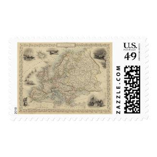Europe 15 postage