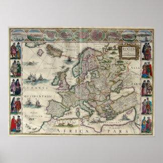 Europe: 1644 poster