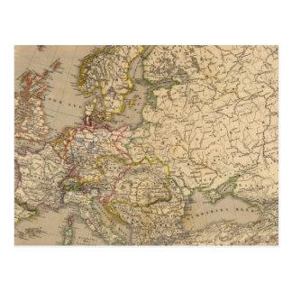 Europe 17 postcard