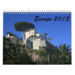 Europe 2013 calendars