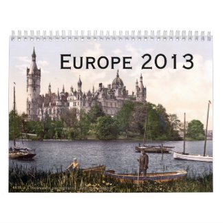 Europe 2013 calendar
