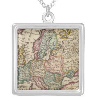Europe 20 silver plated necklace
