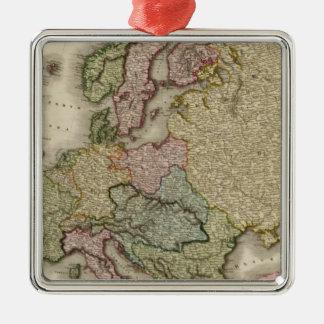 Europe 21 metal ornament