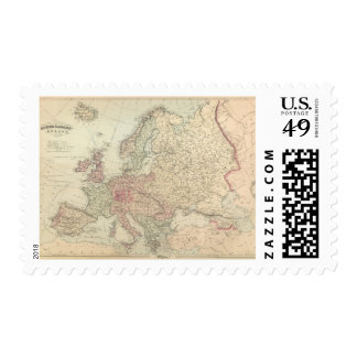 Europe 24 postage stamps