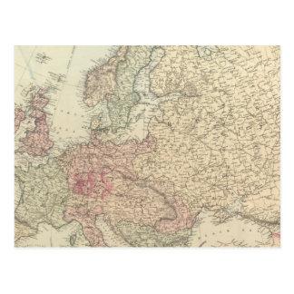 Europe 24 postcard