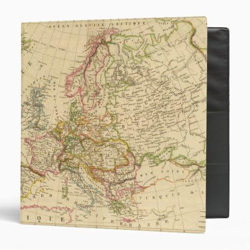 Europe 27 3 ring binder