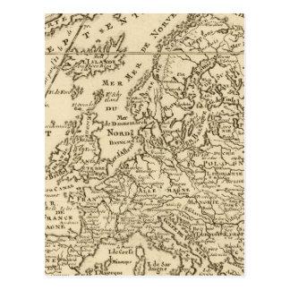 Europe 28 postcard