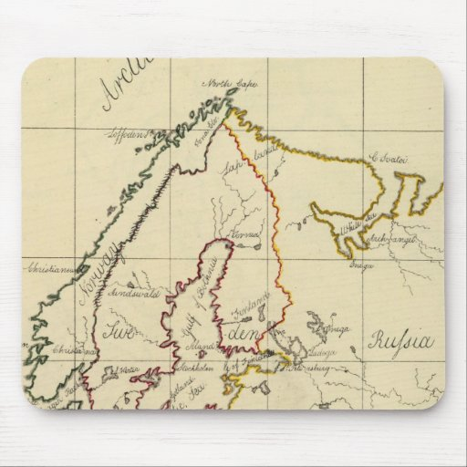 Europe 29 mouse pad