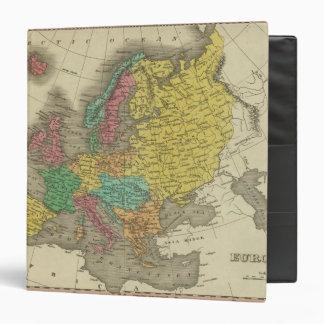 Europe 2 3 ring binder