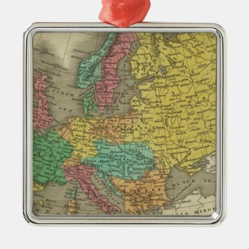 Europe 2 ornaments