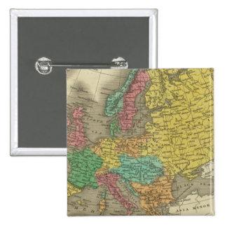Europe 2 pinback button