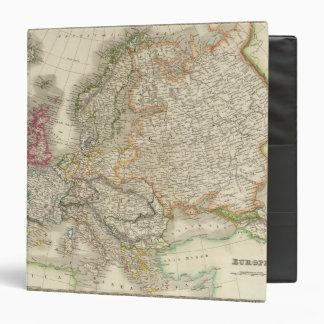 Europe 30 3 ring binder