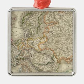 Europe 30 metal ornament