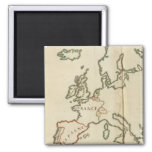 Europe 32 2 inch square magnet