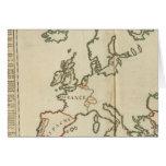 Europe 32 greeting card