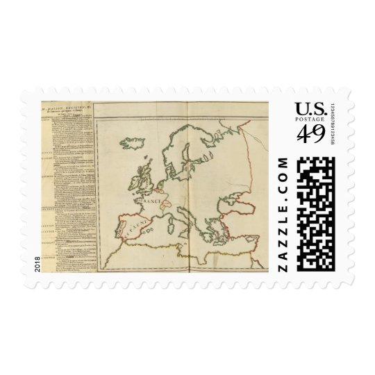 Europe 32 postage