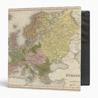 Europe 38 3 ring binders