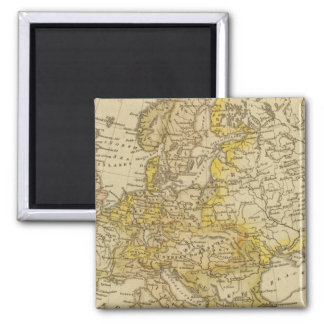 Europe 39 2 inch square magnet