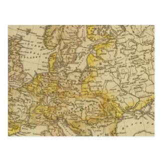 Europe 39 postcard