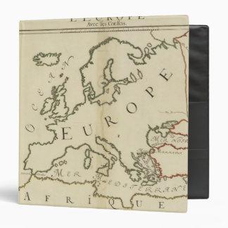 Europe 44 3 ring binders