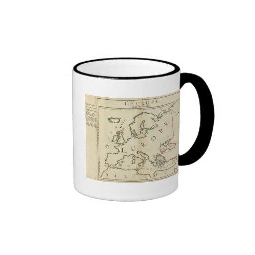 Europe 44 ringer coffee mug