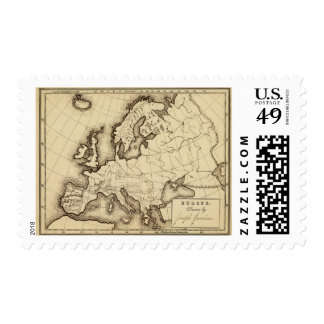 Europe 45 postage stamp