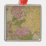 Europe 47 metal ornament
