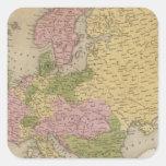 Europe 47 square sticker